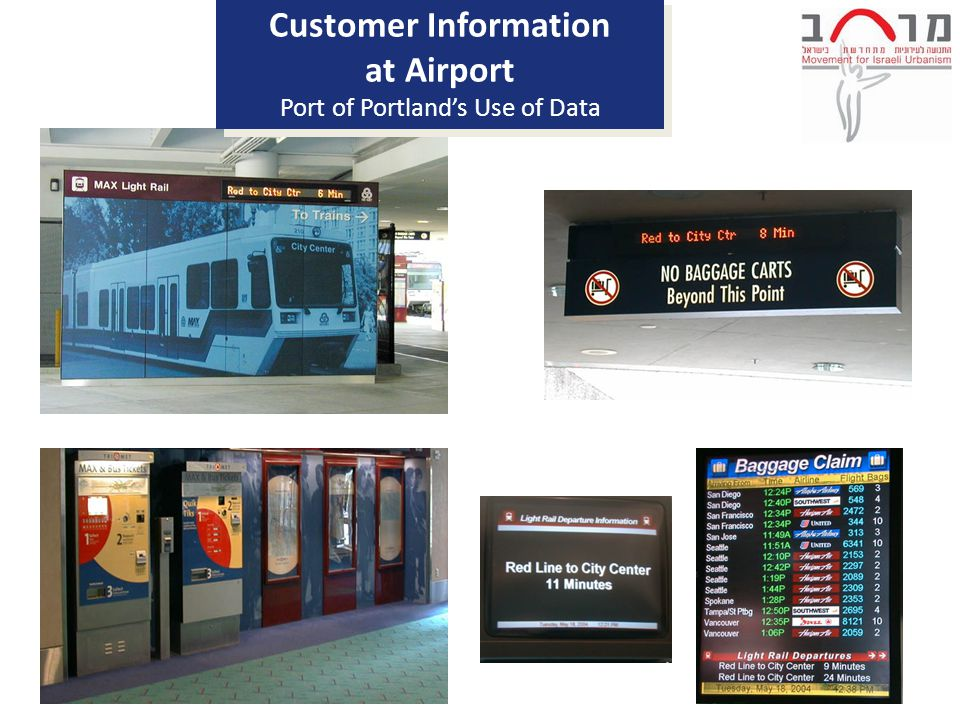 Customer Information at Airport Port of Portland's Use of Data Customer Information at Airport Port of Portland's Use of Data