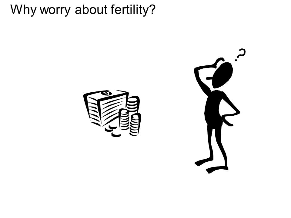 Why worry about fertility?