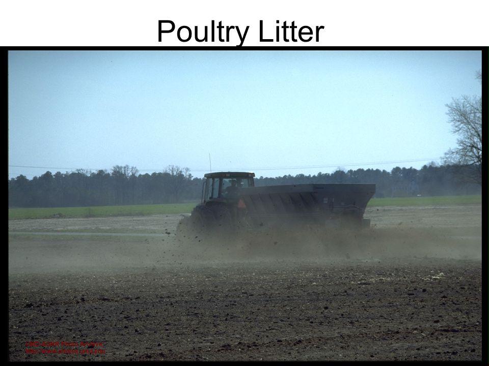 Poultry Litter UMD-AGNR Photo Archive; http://www.photos.umd.edu
