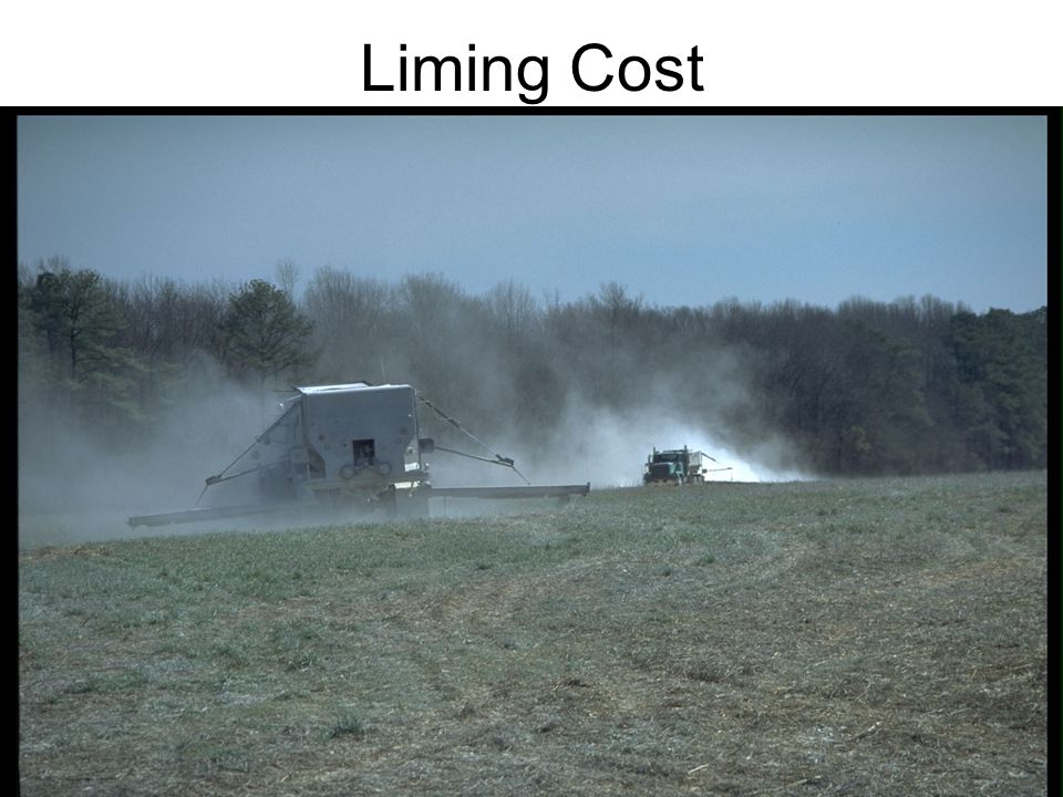Liming Cost