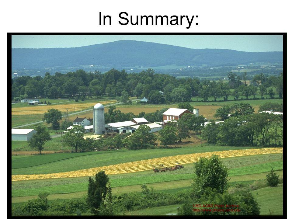 In Summary: UMD-AGNR Photo Archive; http://www.photos.umd.edu