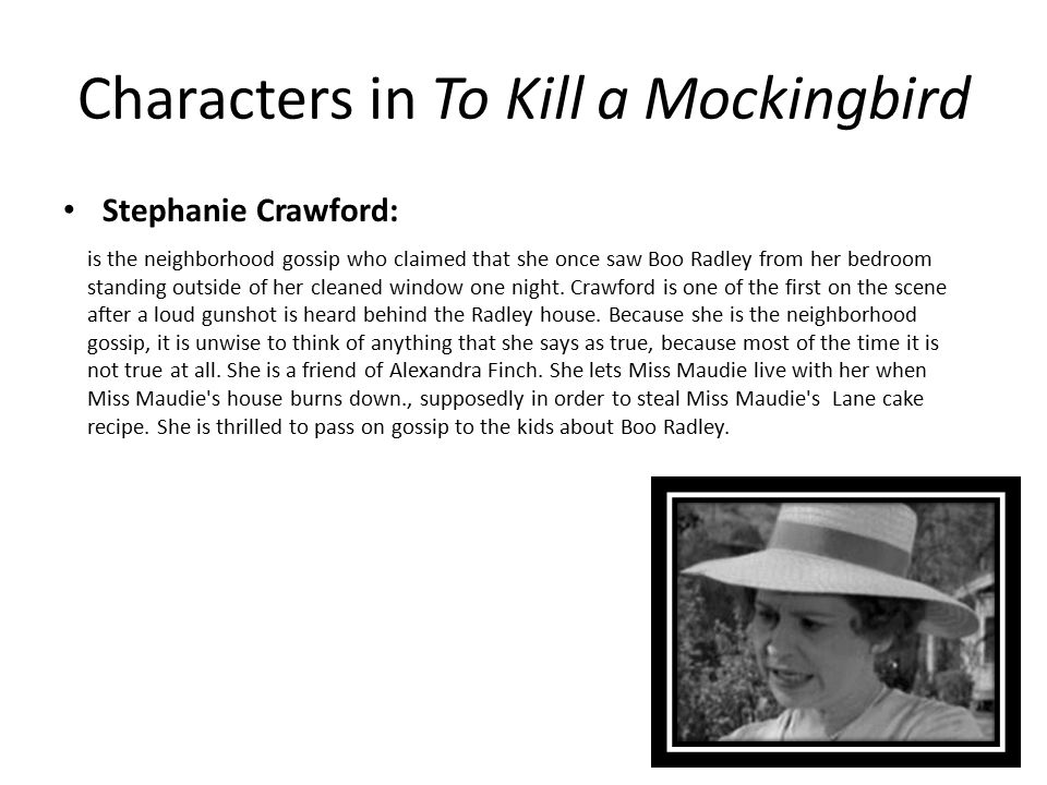 to kill a mockingbird character esssay Conclusion examples for the to kill a mockingbird character analysis essay strategies echoing the introduction: echoing your.