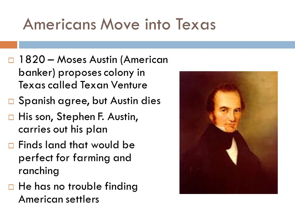 The Texas Revolution Begins  Violence erupted at Gonzales – Mexican forces attempted to retrieve a cannon they lent to Texans  Texans attacked the Mexican force and it retreated  Battle of Gonzales – October 2, 1835 – was the first battle of the Texas Revolution  Texas founded a government and gave Sam Houston the task of raising an army