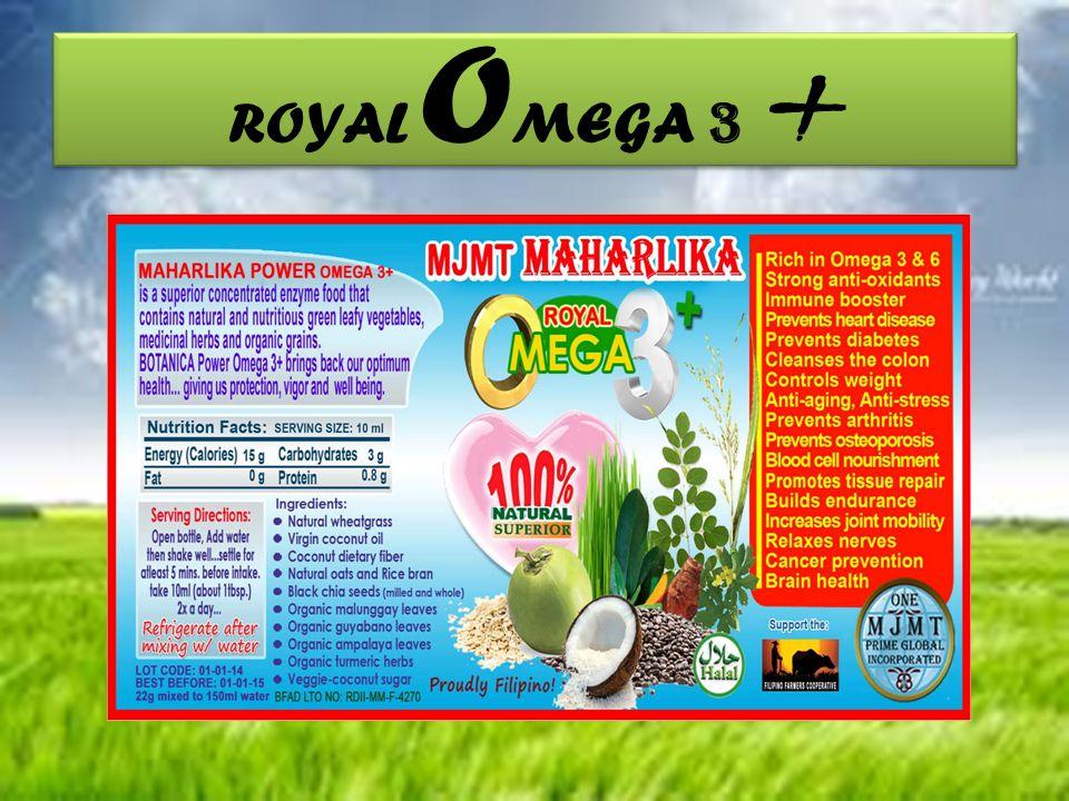 ROYAL O MEGA 3 +