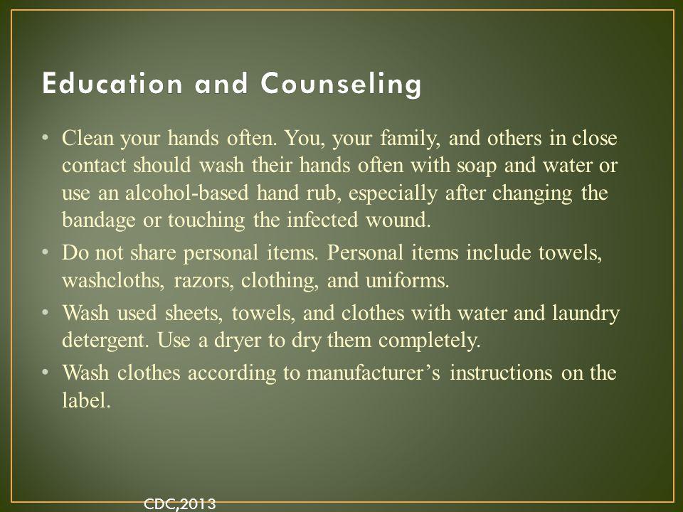 Clean your hands often.