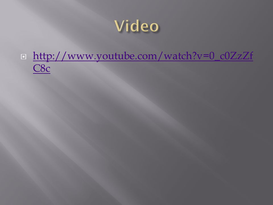  http://www.youtube.com/watch v=0_c0ZzZf C8c http://www.youtube.com/watch v=0_c0ZzZf C8c