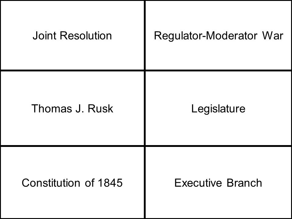 Joint ResolutionRegulator-Moderator War Thomas J.