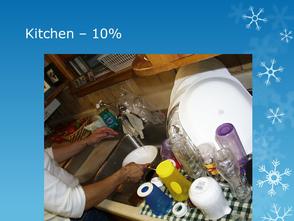Kitchen – 10%