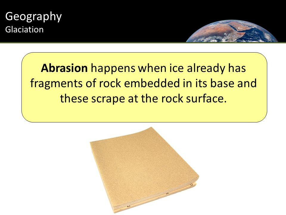 Introduction Geography Glaciation Striations