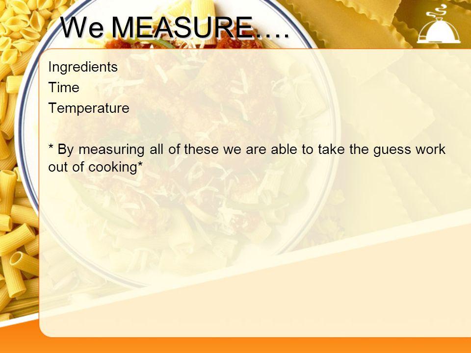 Kitchen Abbreviations 6.