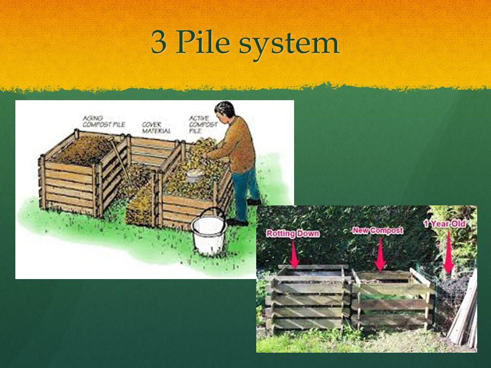 3 Pile system