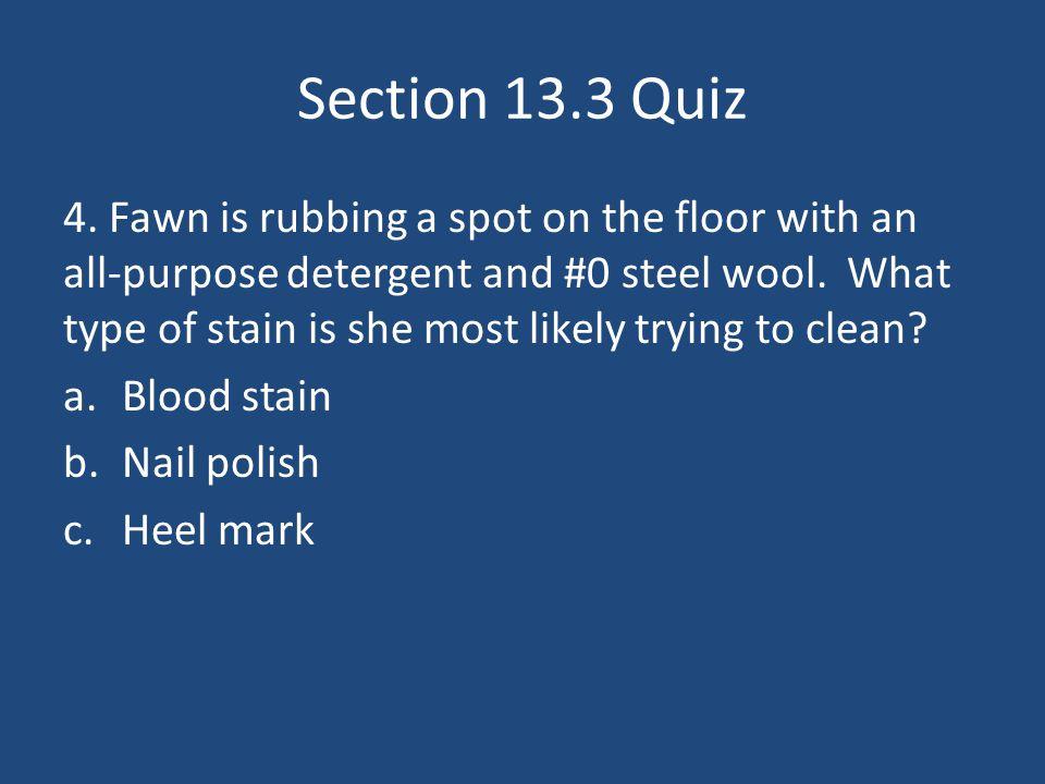 Section 13.3 Quiz 4.