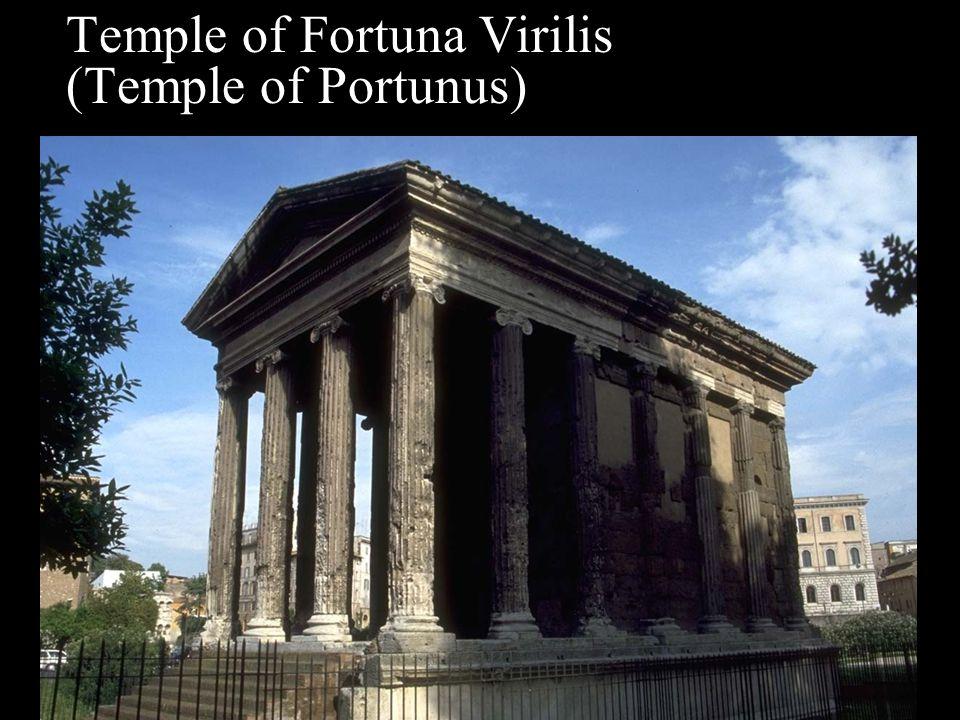 Temple of Fortuna Virilis (Temple of Portunus)
