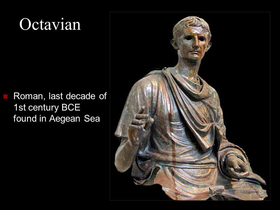 Octavian Roman, last decade of 1st century BCE found in Aegean Sea