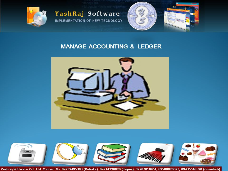 MANAGE ACCOUNTING & LEDGER