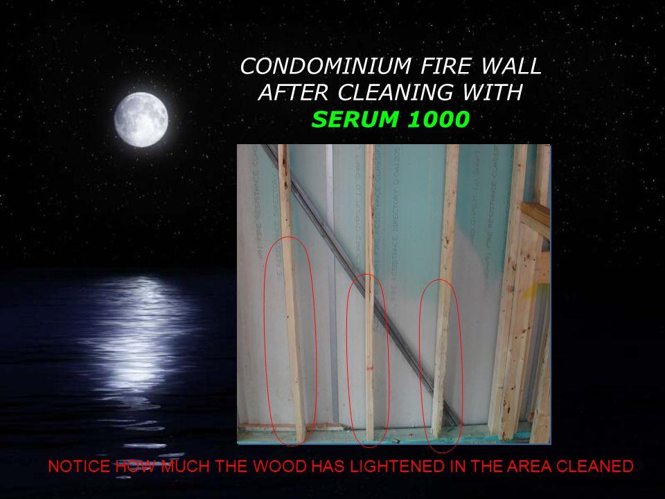 MOLDED CONDOMINIUM FIRE WALL