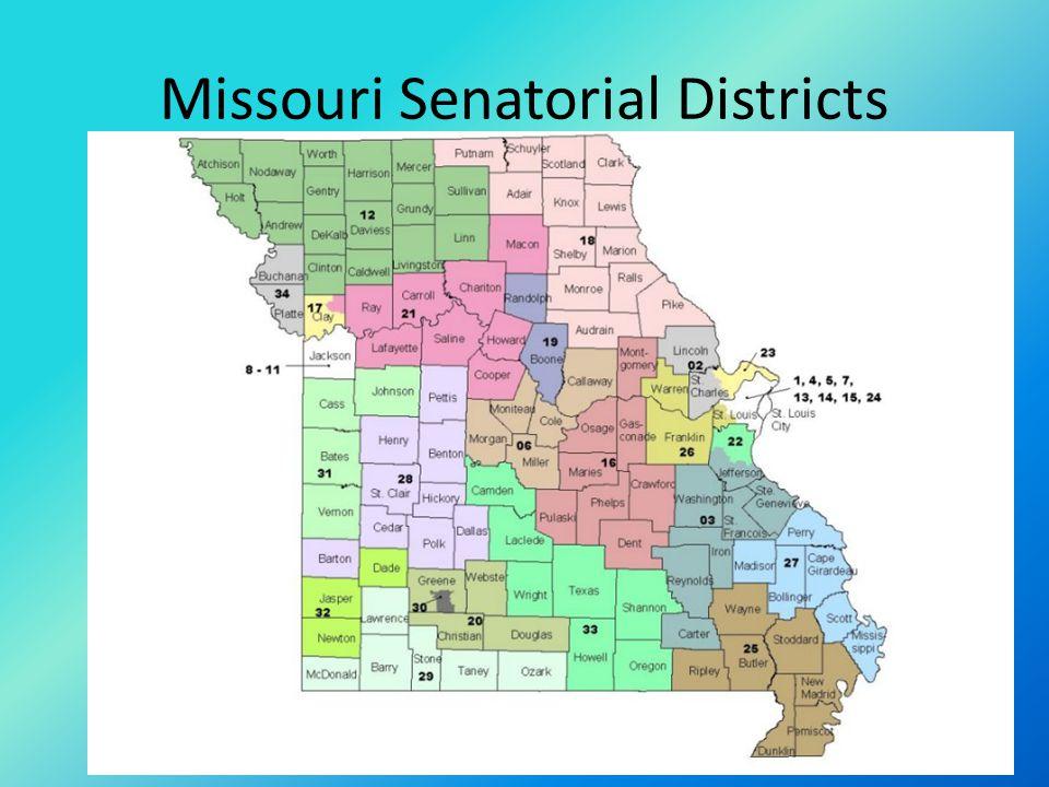 Missouri Senatorial Districts