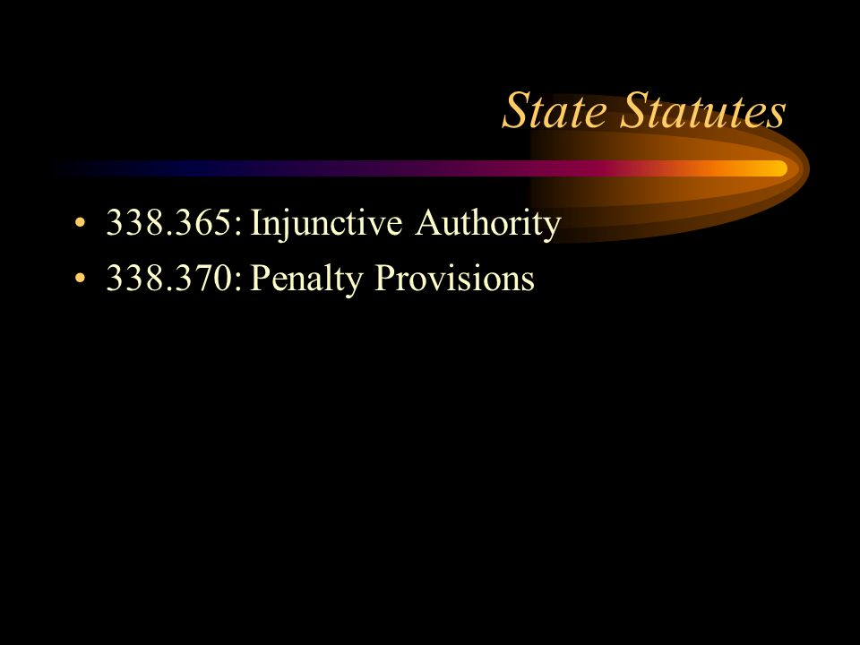 State Statutes 338.315: Receipt of Drugs 338.330: Definition of Drug Distributors 338.333: Licensing –Temporary vs.