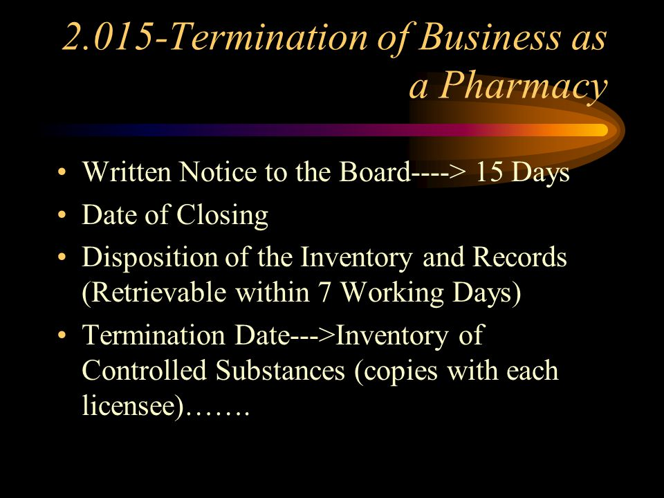 2.010-Operational Standards Drug/Device Transfer Record Requirements Drug Inventories Drug Samples