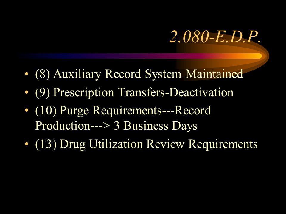 2.080-E.D.P. (1)Original Rx. vs.