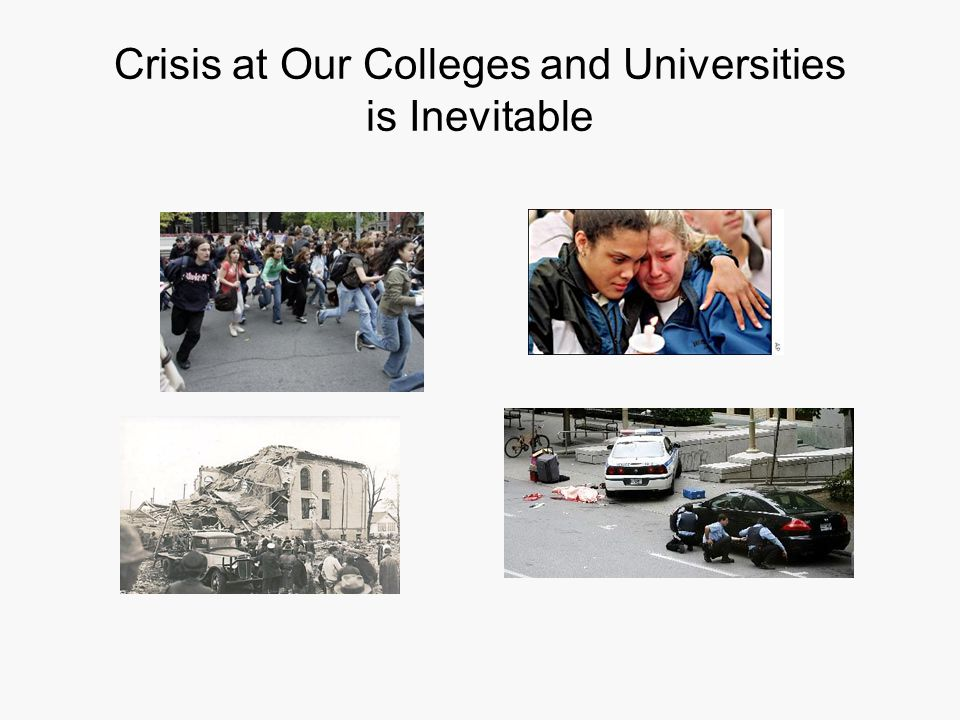 Crisis at Our Colleges and Universities is Inevitable