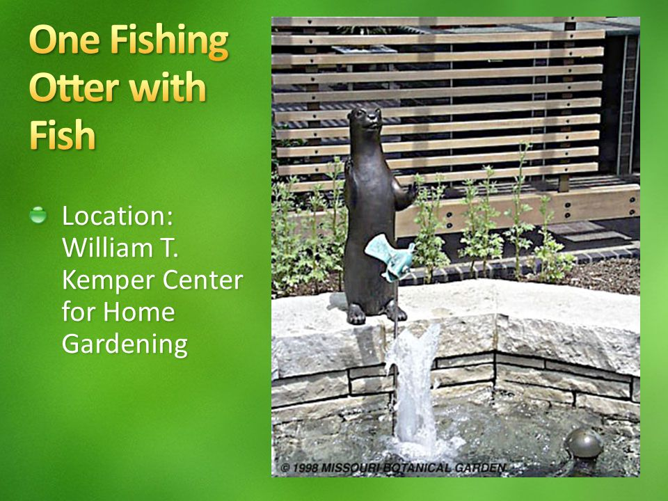 Location: William T. Kemper Center for Home Gardening