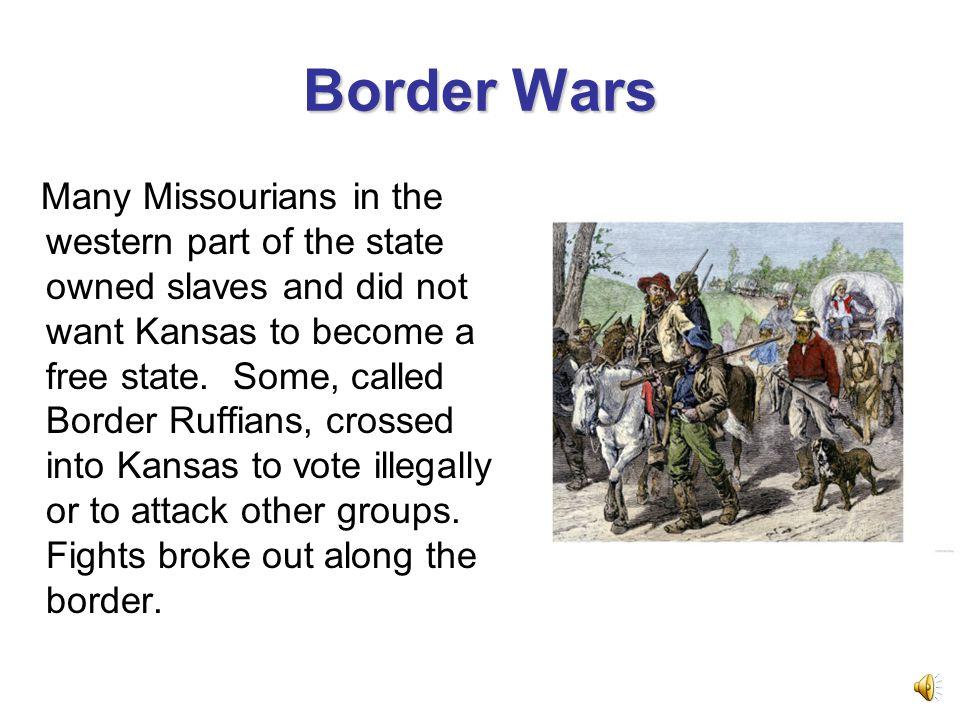 The Kansas-Nebraska Act In 1854, Congress passed the Kansas- Nebraska Act.