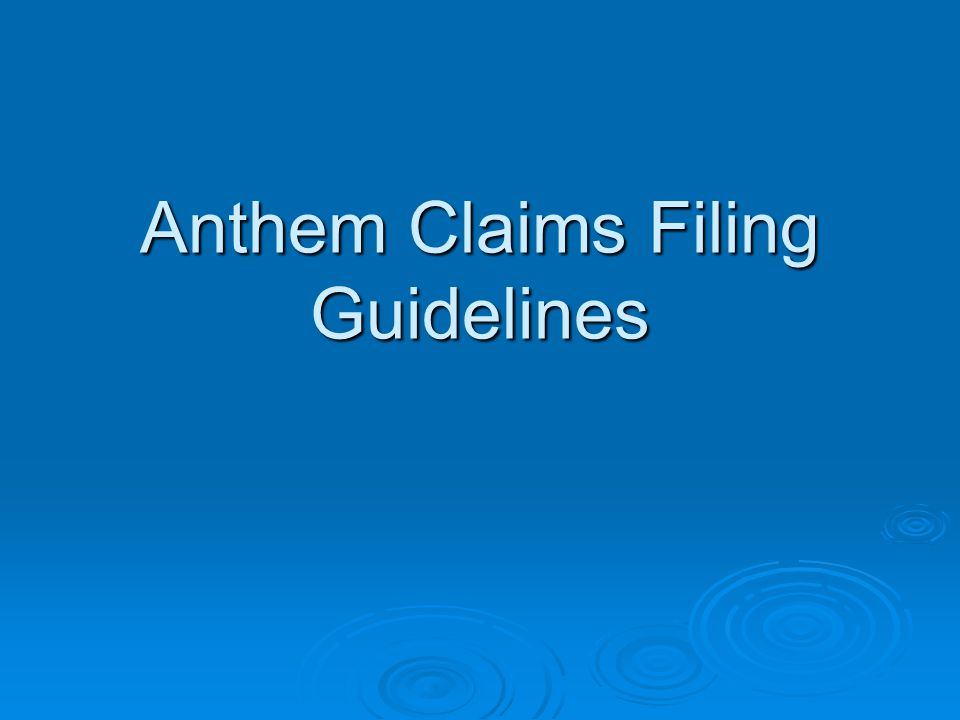 How will the 90-Day Grace Period be implemented? Anthem will process claims for services received during the first month Providers notified of grace p