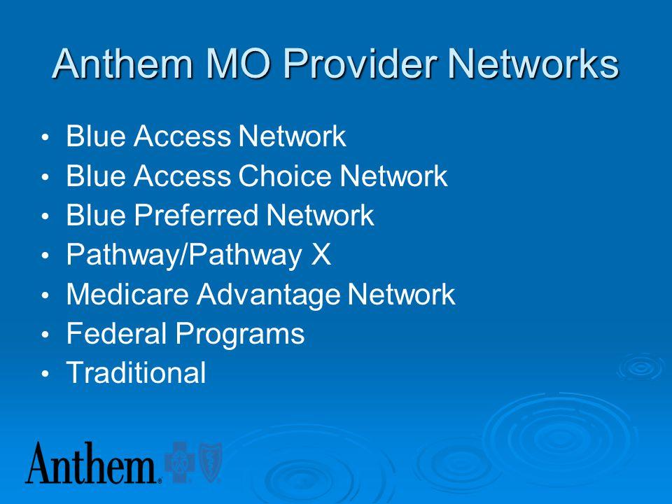 Anthem Mo Provider Networks