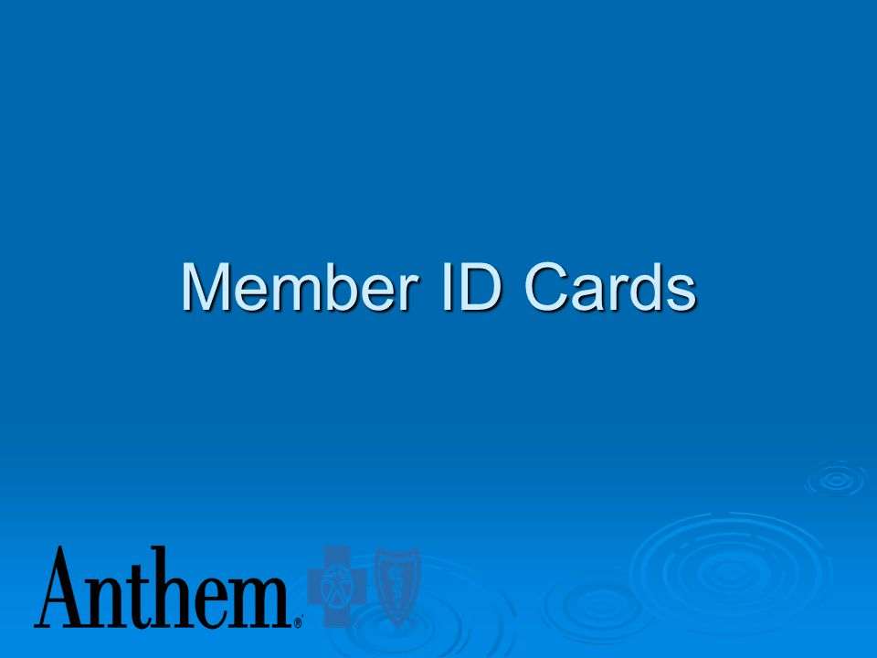 Anthem MO Provider Networks Blue Access Network Blue Access Choice Network Blue Preferred Network Pathway/Pathway X Medicare Advantage Network Federal