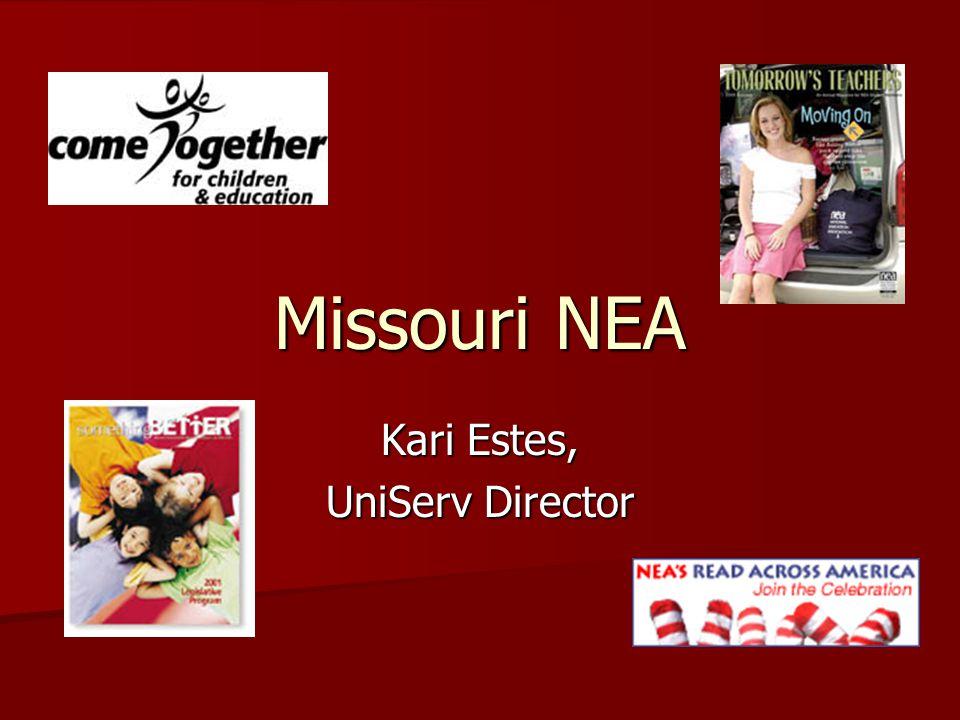 Missouri NEA Kari Estes, UniServ Director