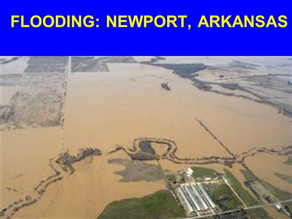 FLOODING: NEWPORT, ARKANSAS