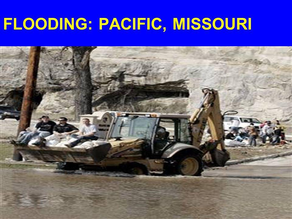 FLOODING: PACIFIC, MISSOURI