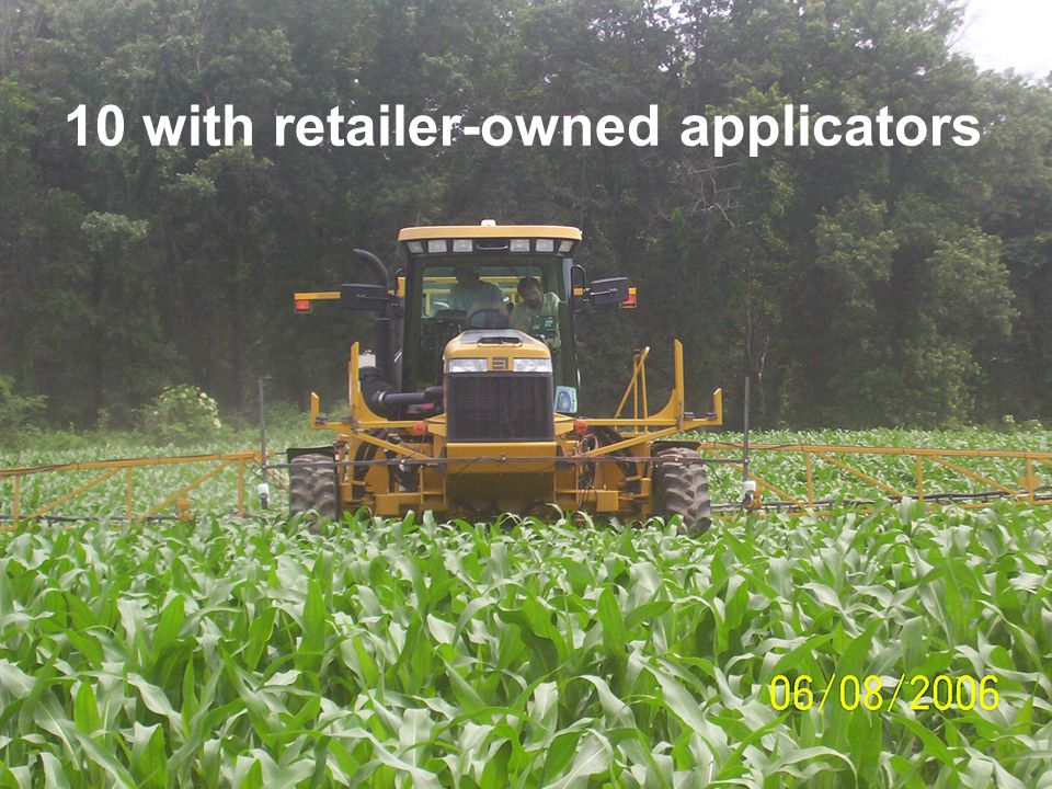 10 with retailer-owned applicators