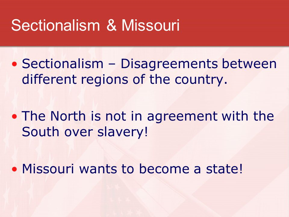 Slave State or Free State.Union (U.S.) had 22 states.
