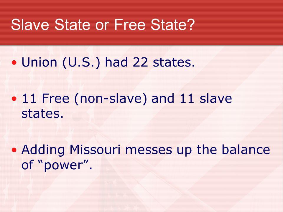 Missouri Compromise – Clay's Idea.