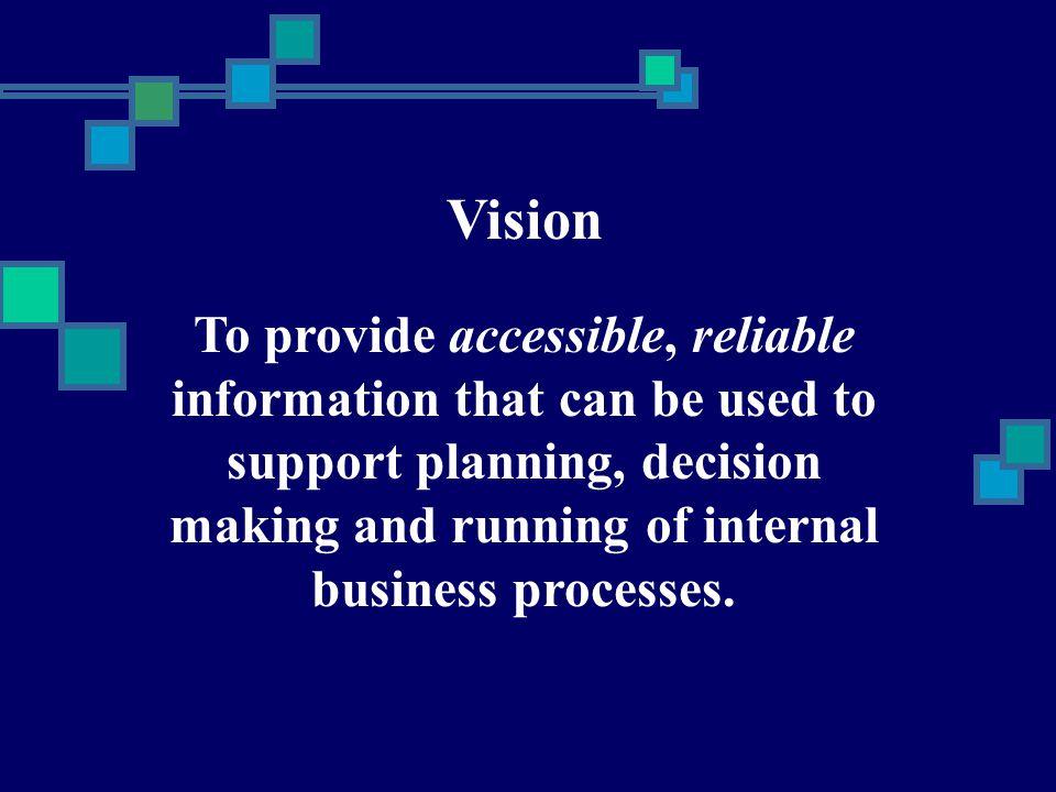 Data Warehouse  Yes We Need One!!!.