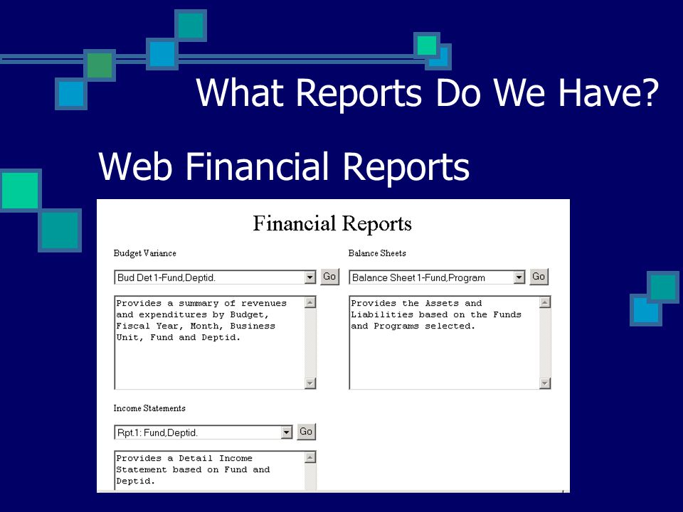 Accounts Receivable/Billing AR Aging Report – PS Search Options ARBI Invoice Number – PS Search Option Adhoc Reporting by Campuses and System Queries What Reports Do We Have?
