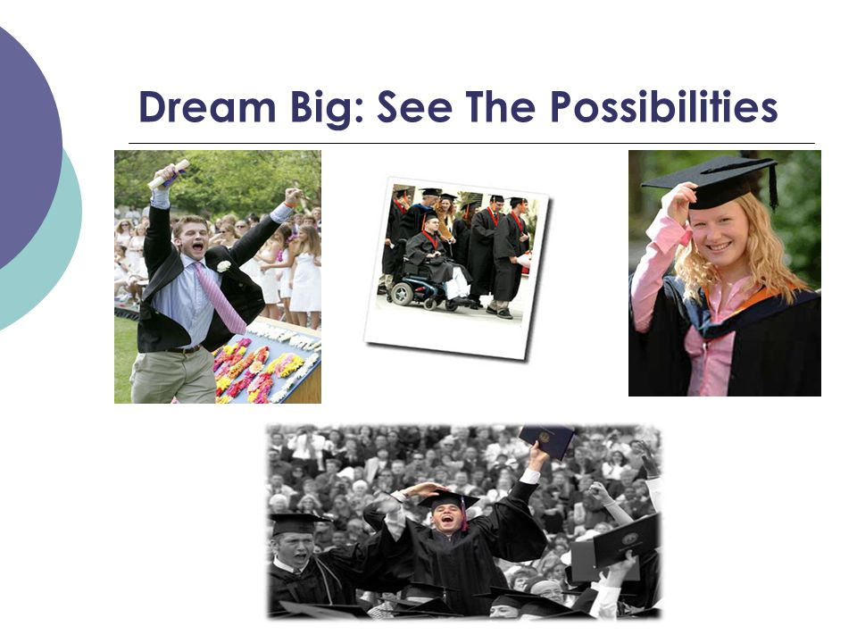 Dream Big: See The Possibilities