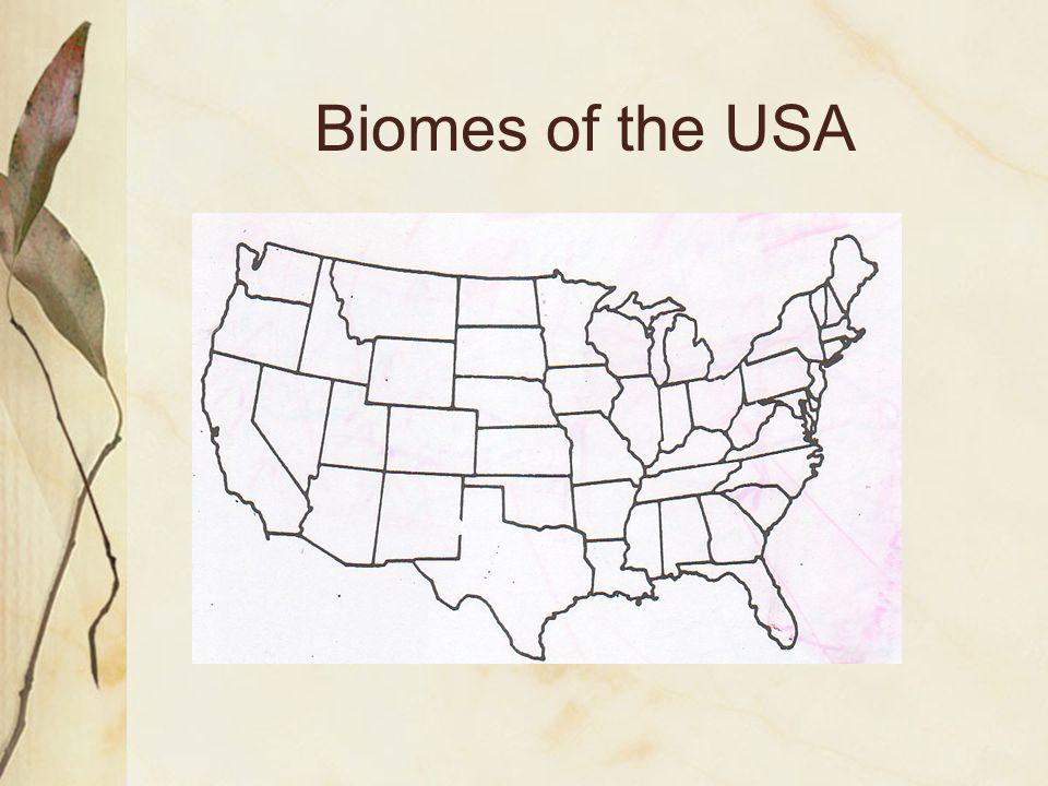 Biomes of the USA