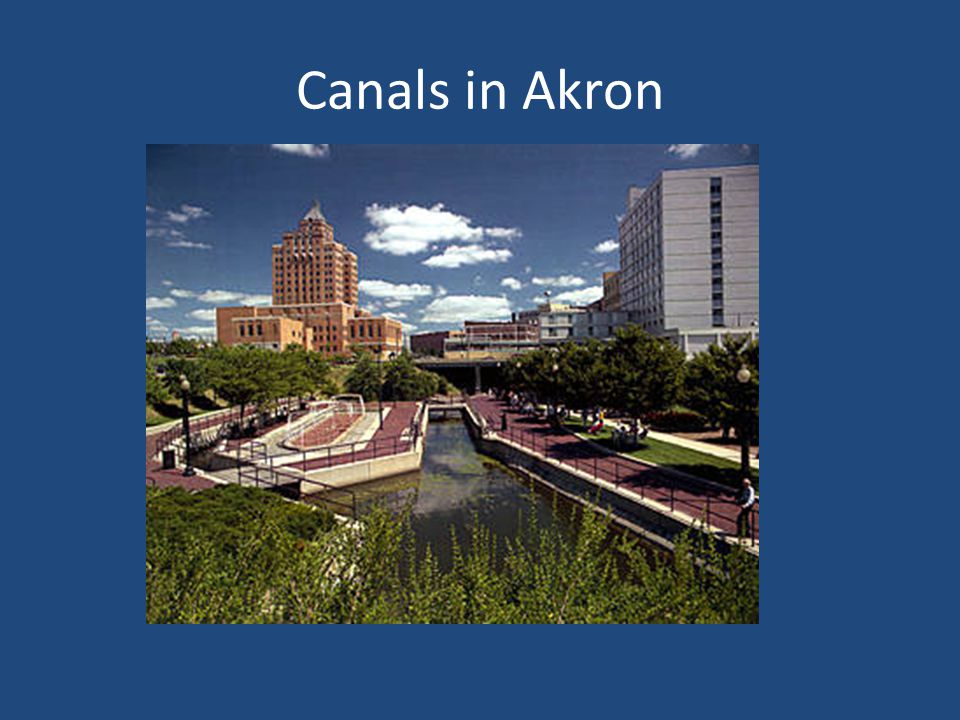 Canals in Akron