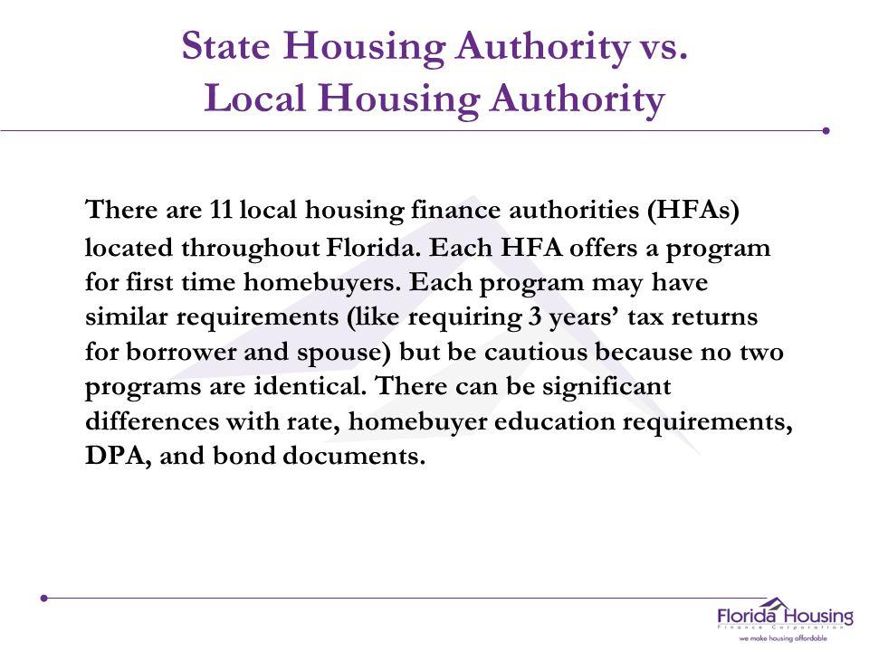 Housing Finance Authority vs.