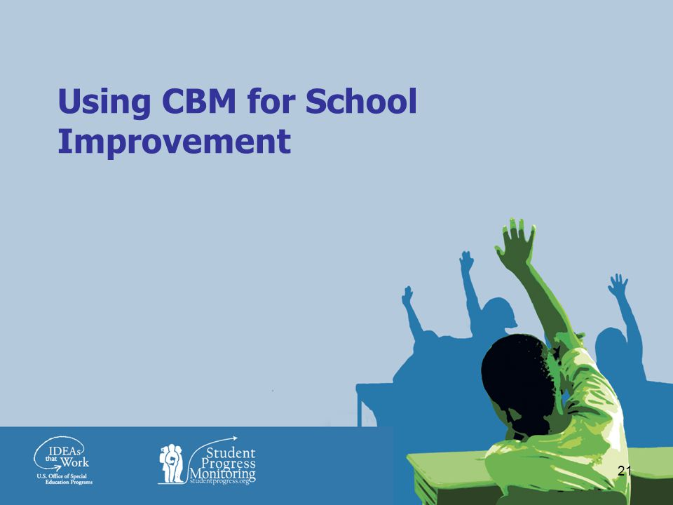 21 Using CBM for School Improvement