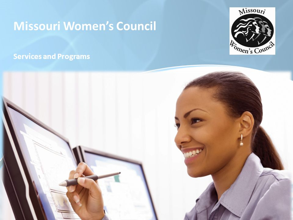 Missouri Women's Council Services and Programs