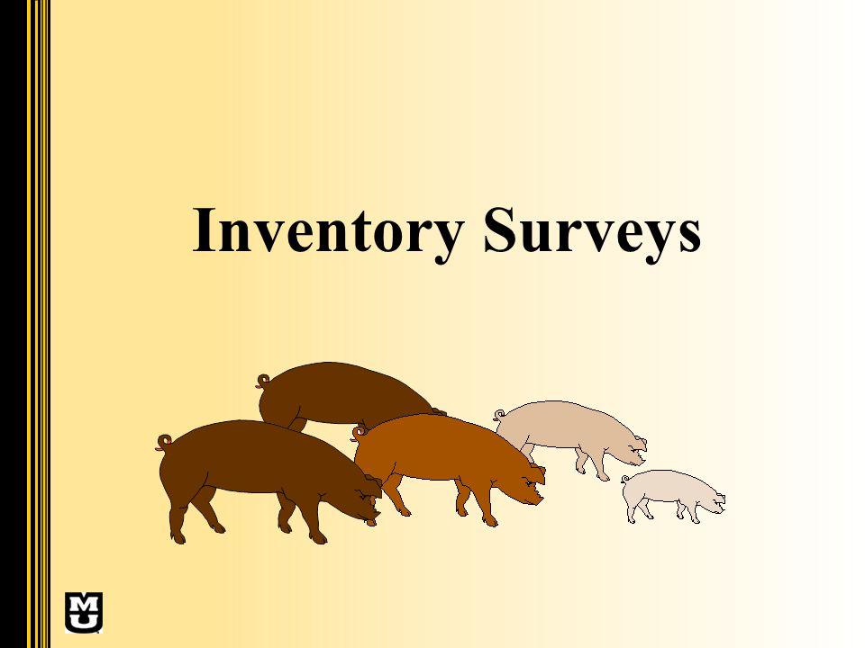 Inventory Surveys