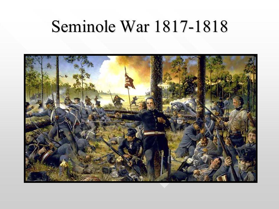 Seminole War 1817-1818