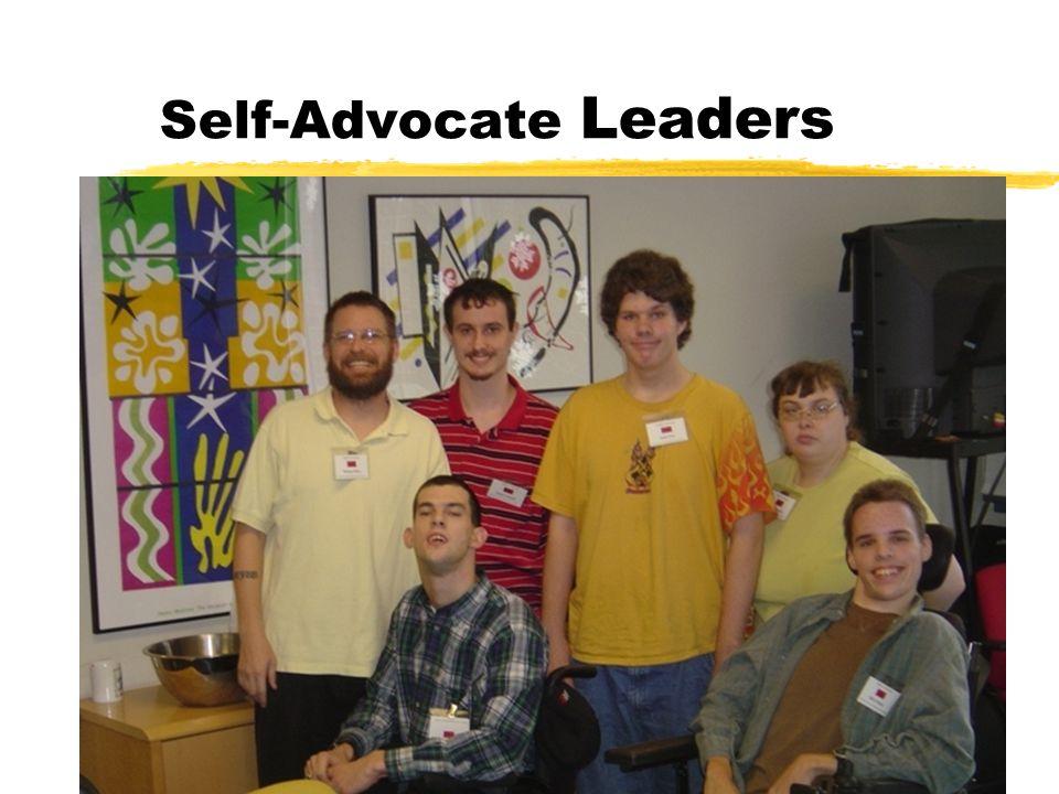 Self-Advocate Leaders