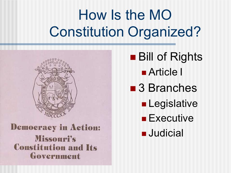 Rights Guaranteed to Missourians Freedom of Religion What are the limits.