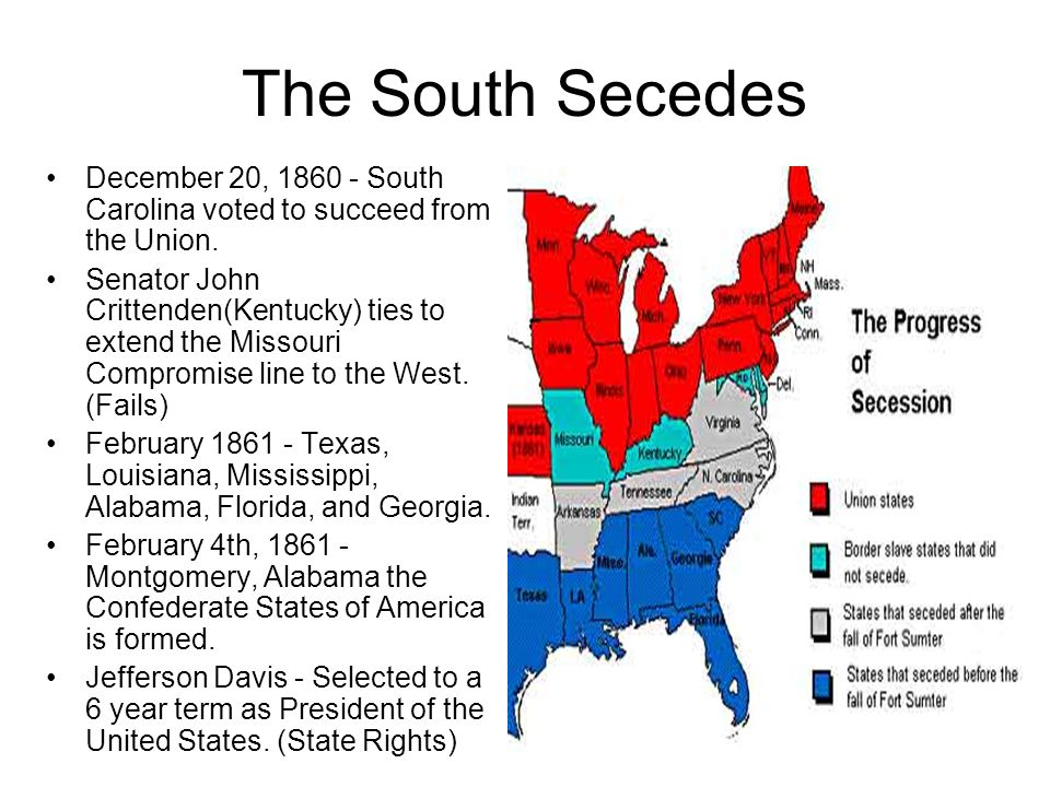 ELECTION OF 1860 Lincoln ran against Douglass in the Presidential Election of 1860. The Southern states did not like Lincoln or what he believed in. T