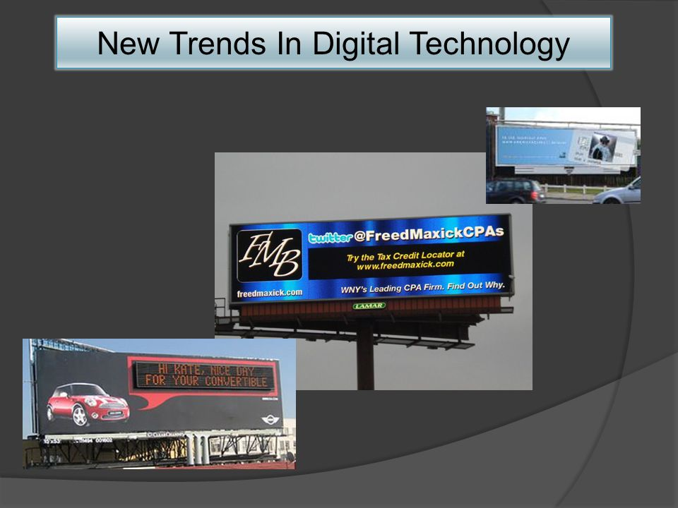 New Trends In Digital Technology